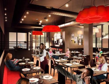 Club5 - Sandra Kapp Innenarchitektur - Restaurant Interior 01