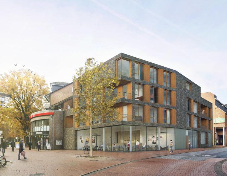 Vom Dorfkern zum Stadtkern - Buchholz i.d. Nordheide - Stadtentwicklung - Adolfstraße nachher