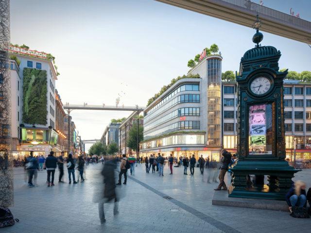 Hannover-Roofwalks-Kulturhauptstadt 2025-hier jetzt alle-chora blau-Kroepcke