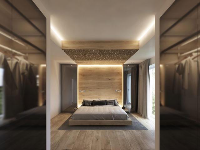 Innenarchitektur-3D Visualisierung-Interior Design-Schlafzimmer 01