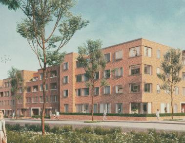 Wettbewerb - Kronsberg Sued - agsta - GWH Wohnungsgesellschaft - Visualisierung