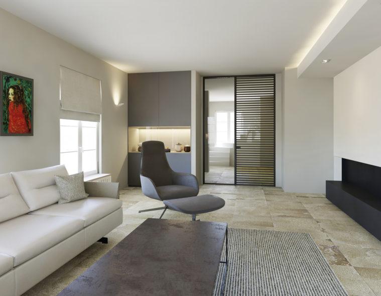 3D Visualisierung-Innenraum-Arch Viz-Interior Design-Wohnzimmer