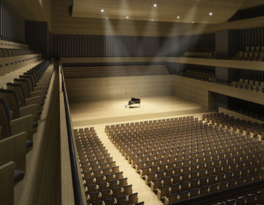 Konzerthaus Nürnberg - pape + pape Architekten - Konzertsaal