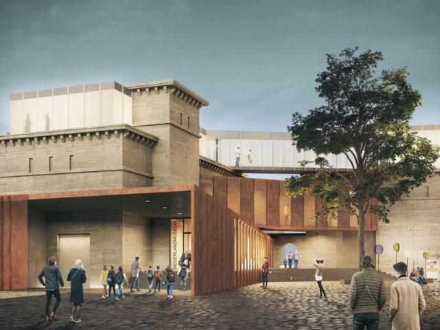 erweiterung siegerlandmuseum-struhkarchitekten BDA-perspektive eingang