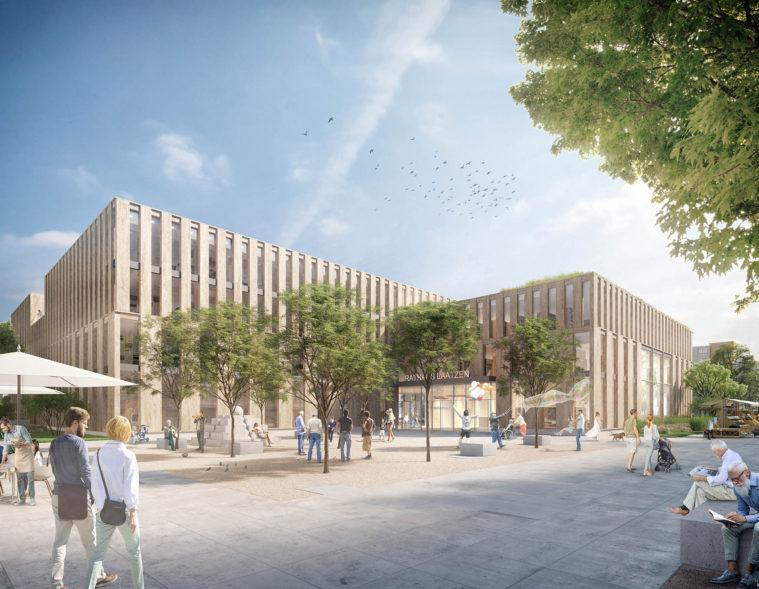 Rathaus Stadt Laatzen-struhkarchitekten BDA-chora blau Landschaftsarchitektur-Quartiersplatz