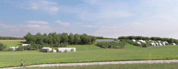 3D-Visualisierung von Photovoltaik-Anlagen in Süddeutschland-erneuerbare energien-landschaftsbild-windwaerts hannover-3d visualisierung-photovoltaik anlage