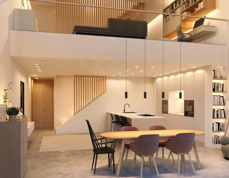 3d-visualisierung-wohnküche-galerie-innenarchitektur